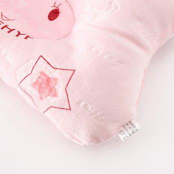 Tri-color Correction of Migraine Newborn Baby Stereotypes Pillow - PINK