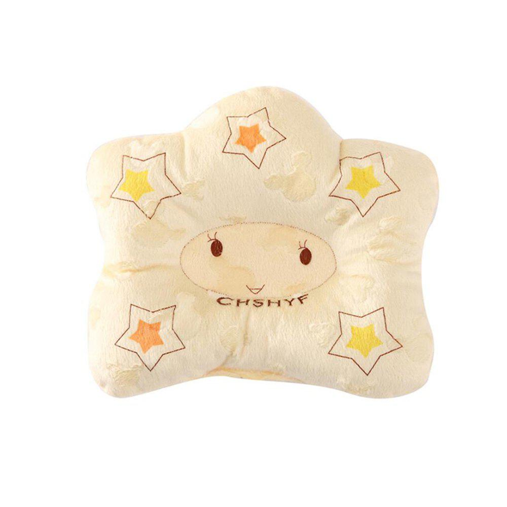 Tri-color Correction of Migraine Newborn Baby Stereotypes Pillow - YELLOW