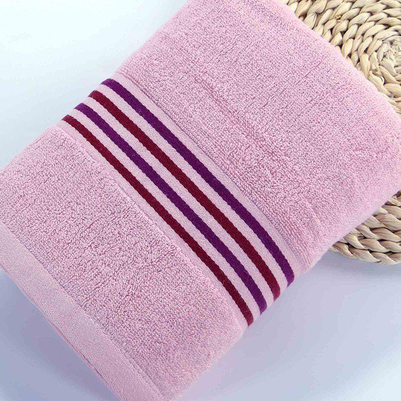Muchun Brand Striated Jacquard Satin Superior Square Hand Hair Towel Face Towel For Kids Adults - RED