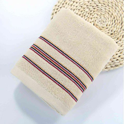 Cotton Soft Bath Towel Super Absorbant Home Textile Large Wash Towel For Adult - BEIGE