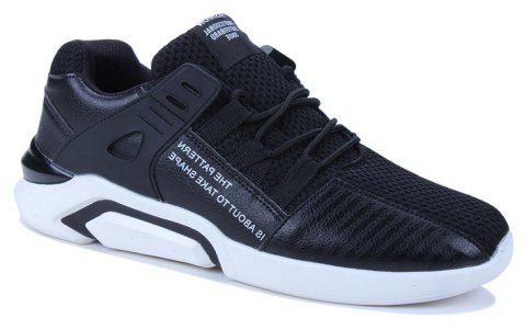 af0f8aa6e1d24 2019 New Men s Flying Knit Casual Sports Running Shoes In BLACK 39 ...