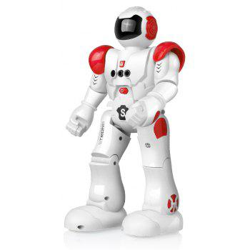 USB Charge RC Robot Dancing Gesture Action Figure Control Toys  Present Birthday Gift for Kids Children - RED 1PC