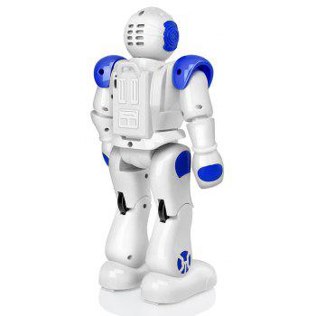 USB Charge RC Robot Dancing Gesture Action Figure Control Toys  Present Birthday Gift for Kids Children - BLUE 1PC