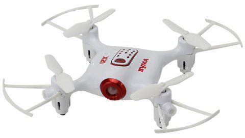 SYMA X21 RC Drone RTF with Headless Mode / Altitude Hold / Low-voltage Protection - WHITE 1PC