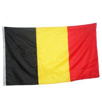 Fans Games Belgian Flag on The 4TH 90 x 150CM - COLORMIX