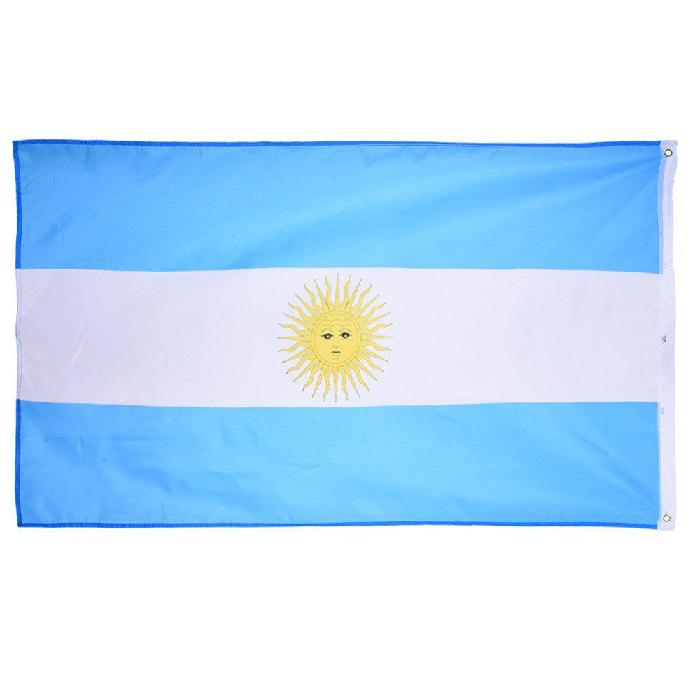Fans Games Argentina Flag on The 4TH 90 x 150CM - COLORMIX