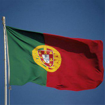 Fans Games Portugal Flag on The 4TH 90 x 150CM - COLORMIX