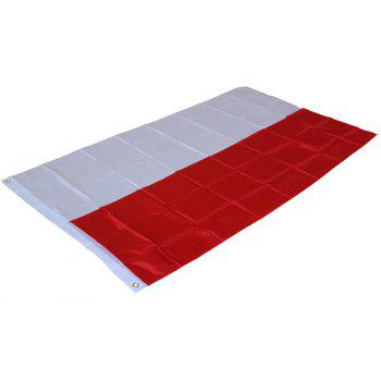 Fans Games Polish Flag on The 4TH 90 x 150CM - COLORMIX