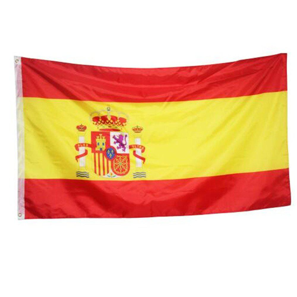 Fan Club Spanish Flag on The 4TH 90 x 150CM - COLORMIX