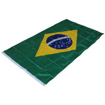 Fans Games Brazilian Flag on The 4TH 90 x 150CM - COLORMIX