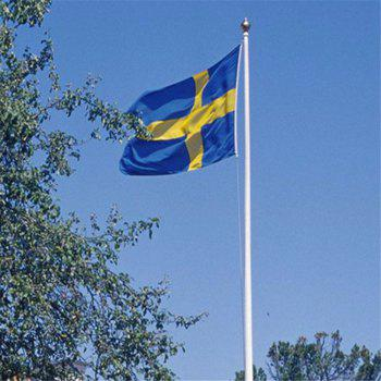 Fans Games Swedish Flag on The 4TH 90 x 150CM - COLORMIX