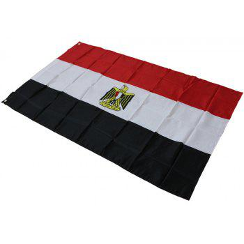 Fans Games Egyptian Flag on The 4TH 90 x 150CM - COLORMIX