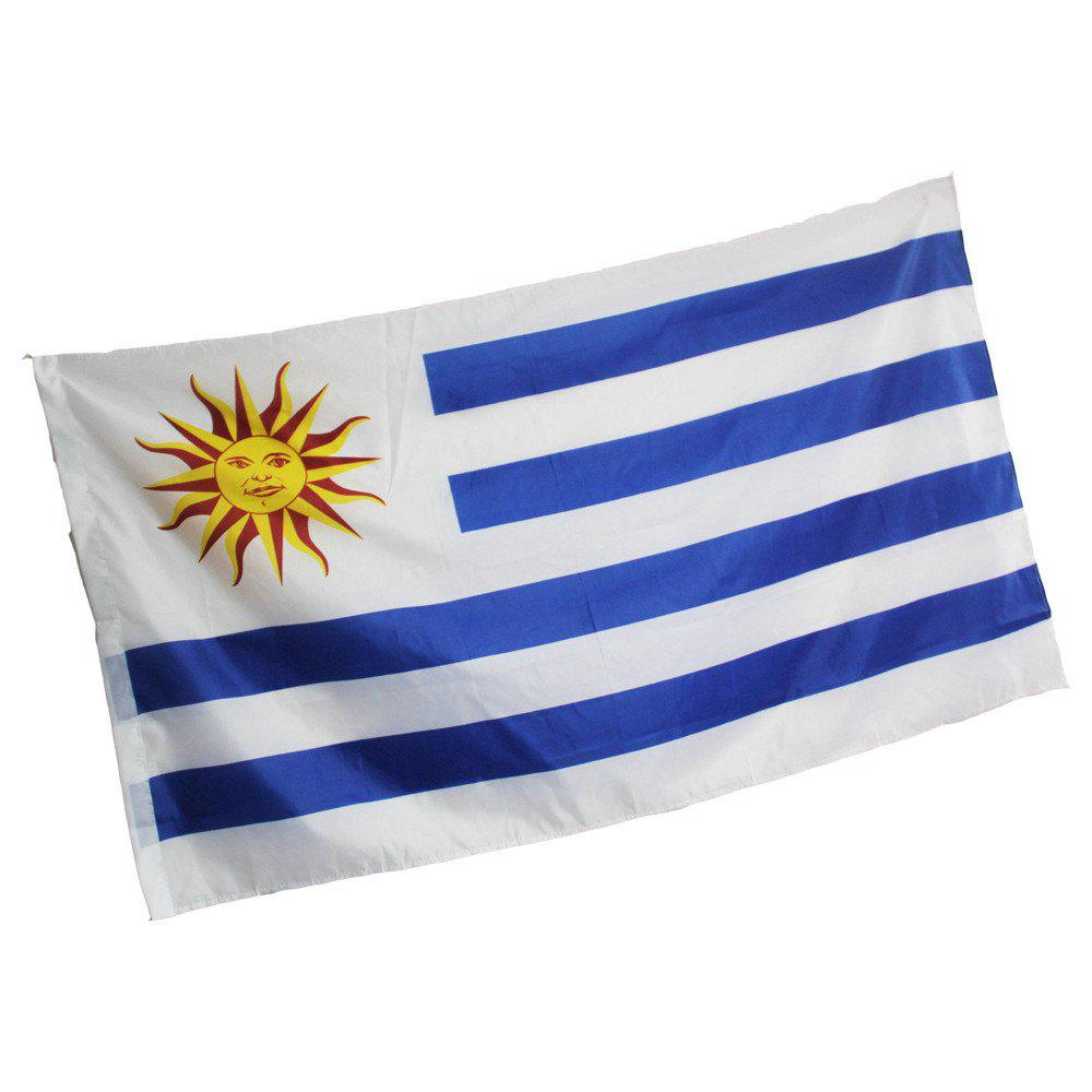 Fans Games Uruguay Flag on The 4TH 90 x 150CM - COLORMIX