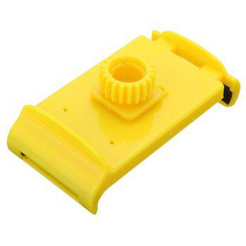 Flexible Lazy Bracket Mobile Phone Neck Hanging Stand Holder for Xiaomi - YELLOW