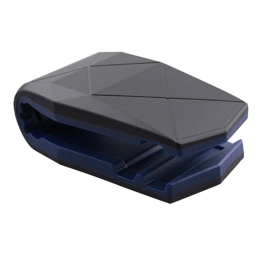 Phone Holder Clip Car Soft Anti Slip GPS Bracket for Mobile - BLUE