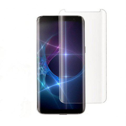 3D Surface Anti-scratch Fingerprint High Definition Steel Glass Film for Samsung Galaxy S9 Plus - TRANSPARENT