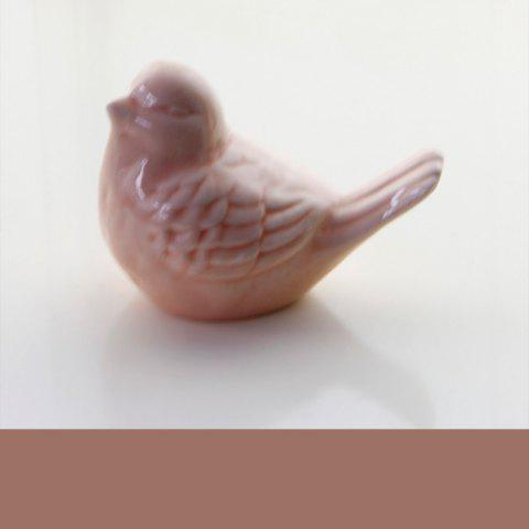 Ceramic Cute Bird Decorations Creative Home Supplies Multiple Color - FLAMINGO PINK