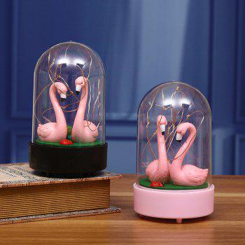 New Strange Decoration Creative  Flamingo Star Light - PINK
