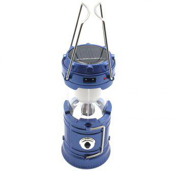 Camping Lantern LED Outdoor Lighting Folding Camp Tent USB Rechargeable - BLUE