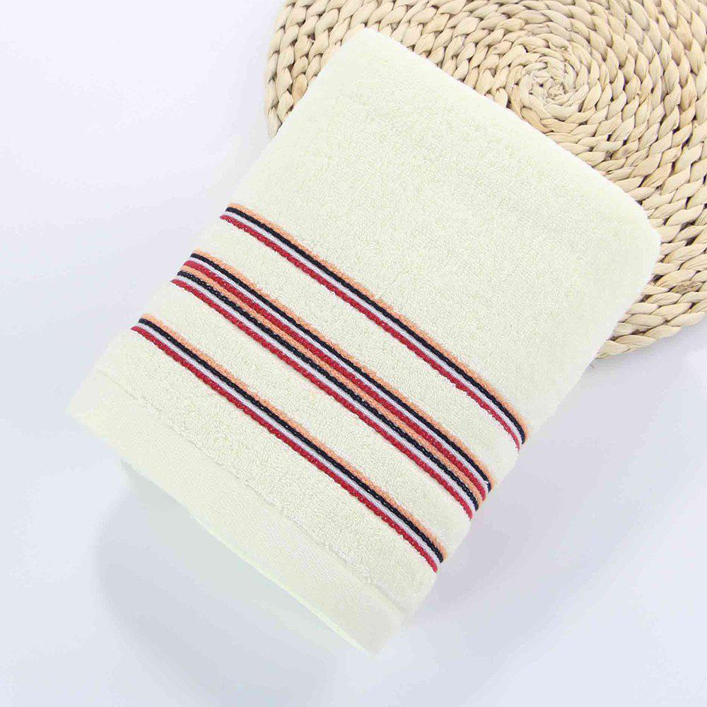 High Quality Cotton Soft Face Hand Square Towel - BEIGE