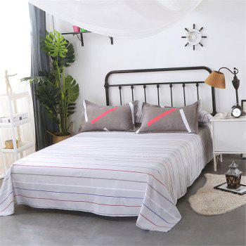 Four Pieces of Bedding Bedding Bag of 1.5M Student Sheets - GRAY TWIN
