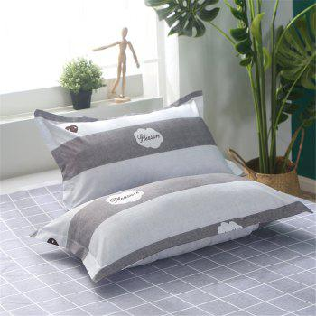 Bedclothes 4 Pieces 1.5/1.8M Bedsheets Are Covered By A Student Dormitory 1.2 Single Bed Quilt 3 Sets 4 - WHITE GREY QUEEN