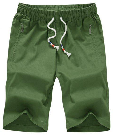 New Summer Youth Casual Men's Shorts - ARMYGREEN M