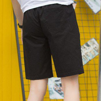 New Summer Youth Casual Men's Shorts - BLACK M