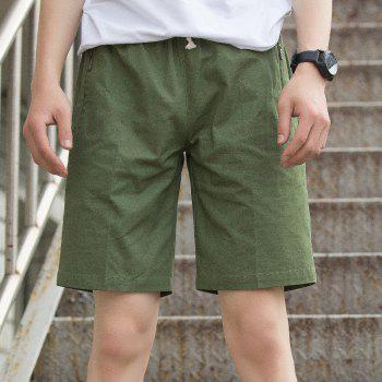 New Summer Youth Casual Men's Shorts - ARMYGREEN 4XL