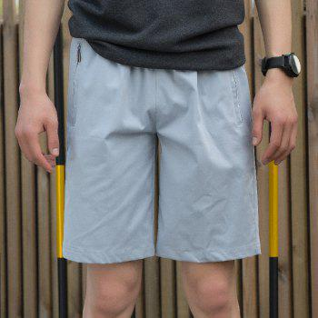 New Summer Youth Casual Men's Shorts - GRAY XL