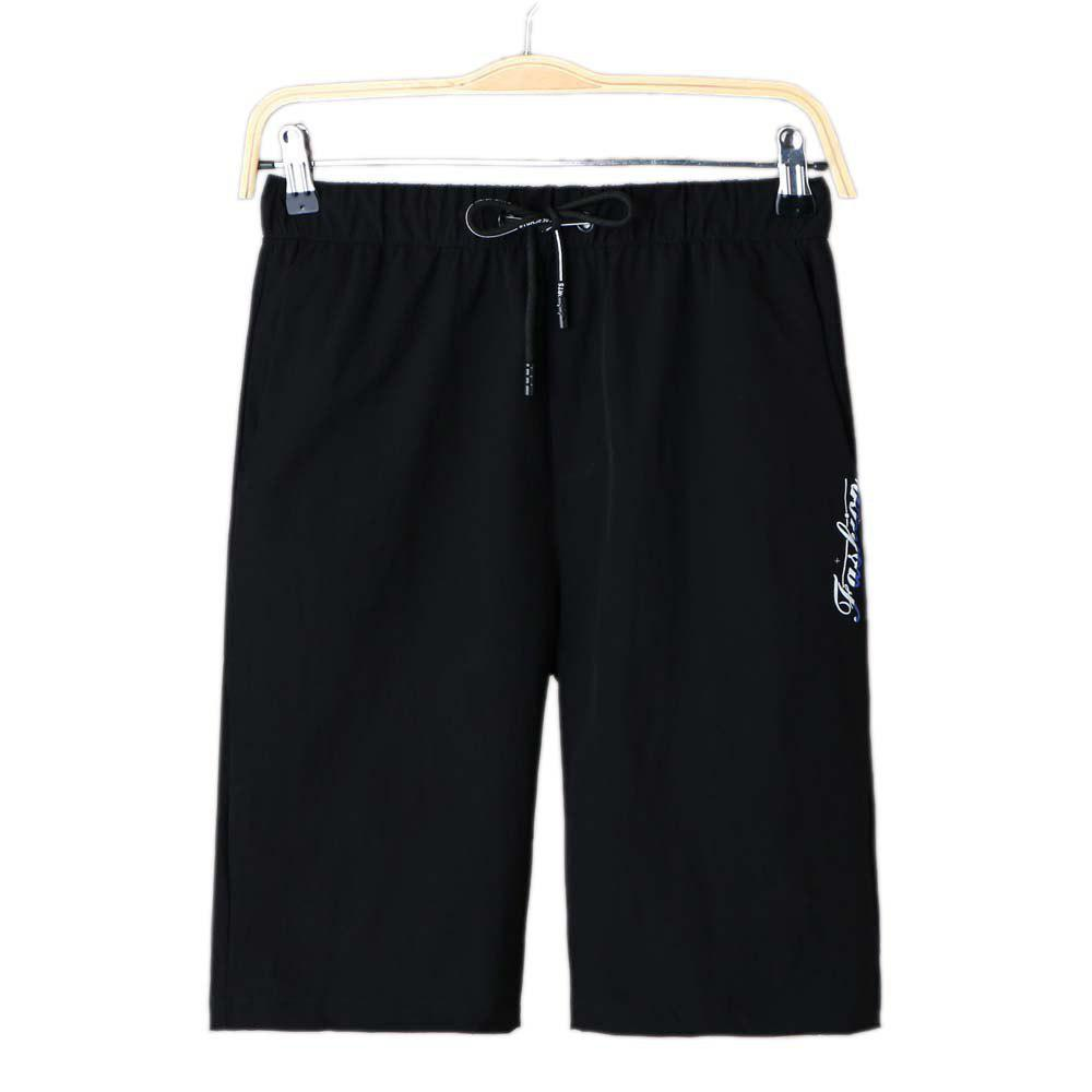 Summer Sports Casual Dry Men's Shorts - BLACK 3XL