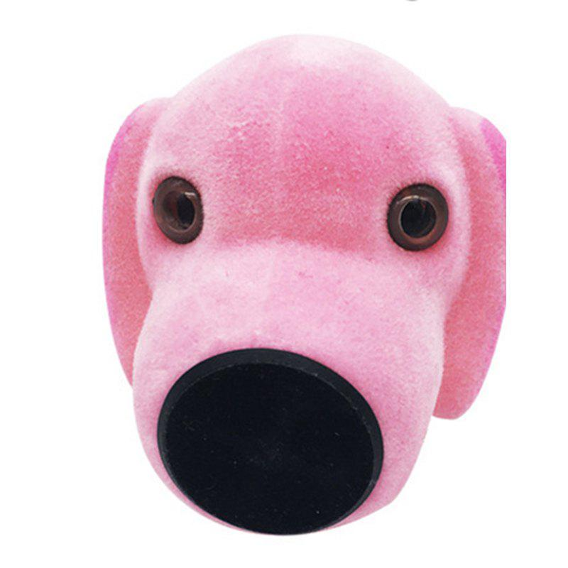 Creative Meng Dog Car Aroma Outlet Phone Bracket - PINK