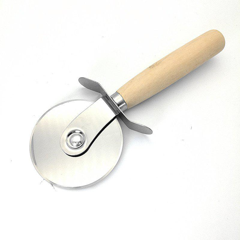 Pizza Cutter Stainless Steel - SILVER