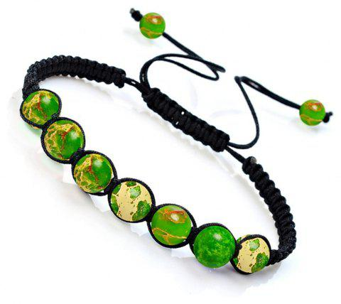 Fashionable Energy Natural Crystal Tiger Eye Stone Handcraft Bracelet Jewelry Woman - COLORMIX