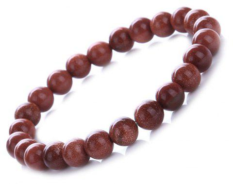 Fashion Minimalist Sandstone Sky Bracelet Woman Jewelry - RED STARS
