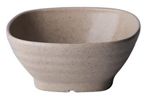 DIHE Environmental Protection Wheat Straw Thick and Solid Japanese Rice Bowl Soup Bowl - BEIGE