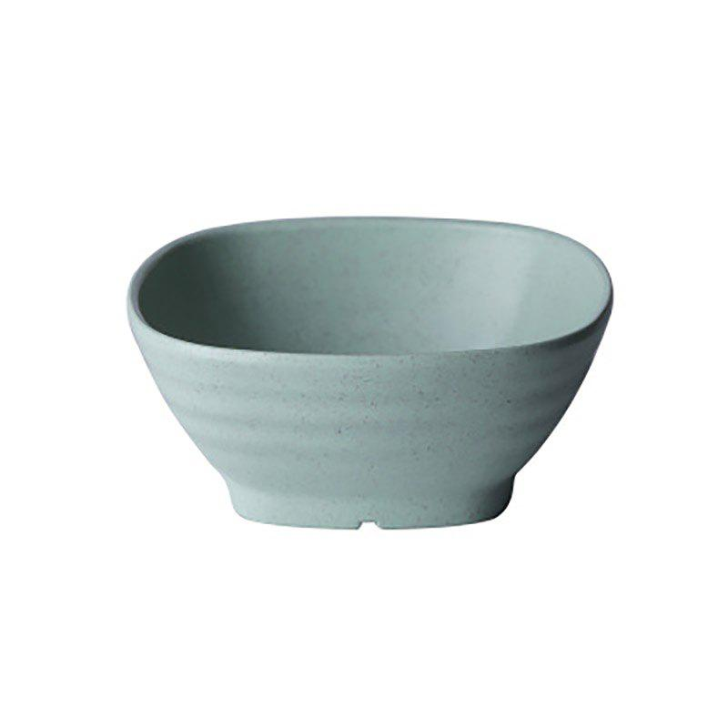 DIHE Environmental Protection Wheat Straw Thick and Solid Japanese Rice Bowl Soup Bowl - GREEN
