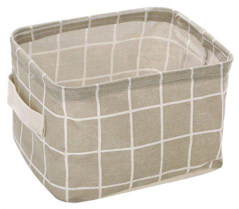 DIHE Diablement Fort Fold Desktop Accept Basket Convenience - GRAY