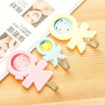 DIHE A Family Originality Brute Force House and Home Pothook 3PCS - COLORMIX