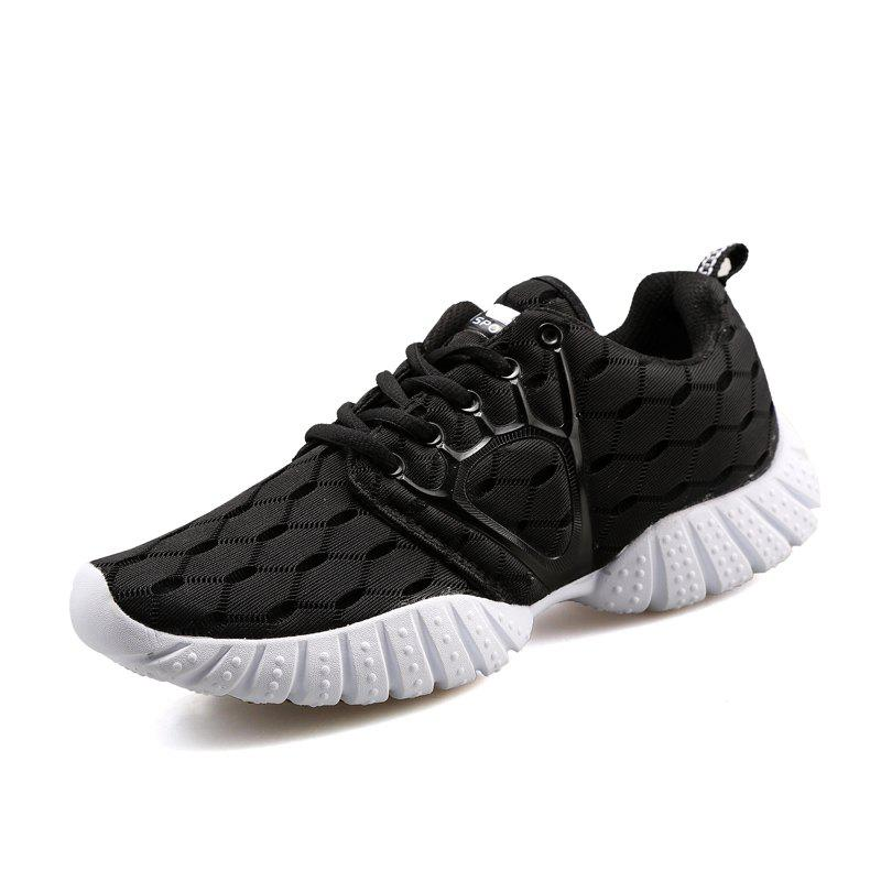 sale high quality outlet purchase Male Breathable Knitted Lace Up Athletic Shoes clearance browse Hay2Vkn
