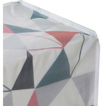 Moisture-Proof and Dust-Proof Printed Cotton Quilt Garment Receive Bag - GRAY SIZE L
