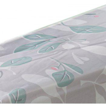 Moisture-Proof and Dust-Proof Printed Cotton Quilt Garment Receive Bag - GREEN SIZE S