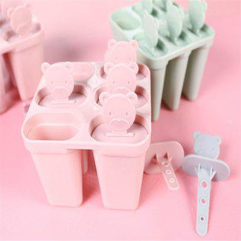 Cute DIY Popsicle Ice Cream Mould - PINK 12.1X10.7X8CM
