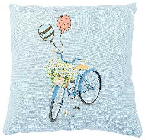 Romantic Flower Balloon Car Small Fresh Pillow Set Confidence - COLORMIX 16INCH X16INCH