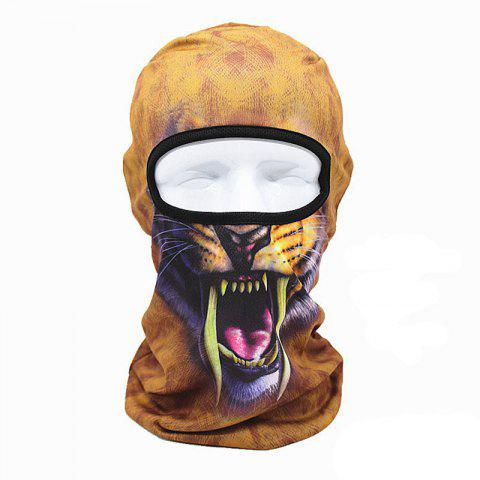 3D Animal Style Breathable Face Mask for Outdoor Sports Motorcycle Cycling Snowboard Hunting - COLORFUL