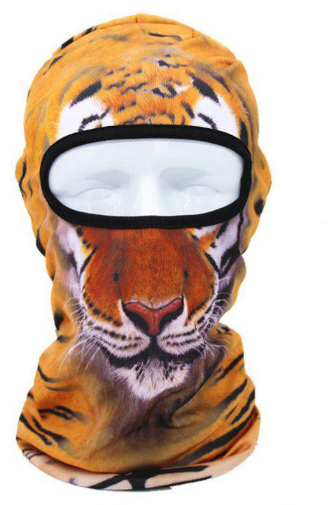 3D Animal Style Breathable Face Mask for Outdoor Sports Motorcycle Cycling Snowboard Hunting - COLOR STRIPE