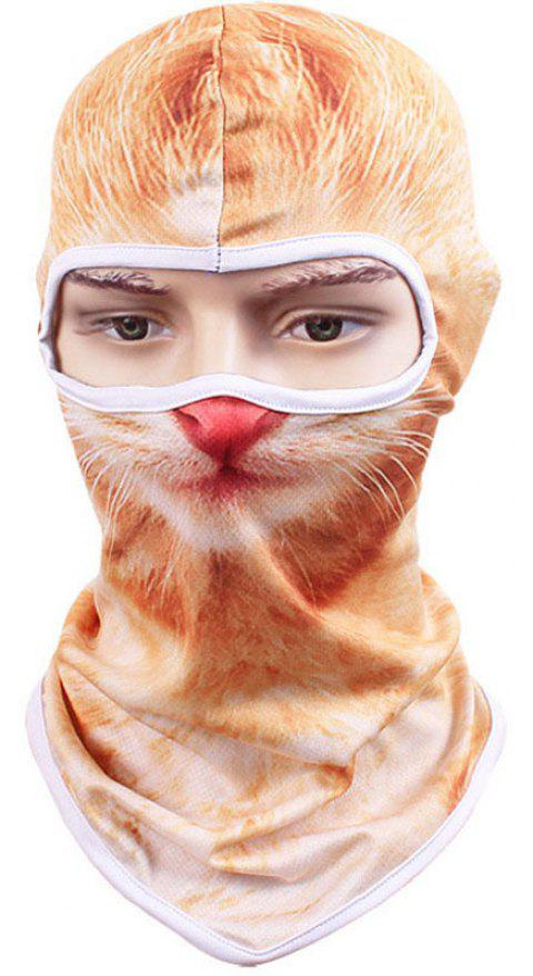 3D Animal Style Breathable Face Mask for Outdoor Sports Motorcycle Cycling Snowboard Hunting - DAISY