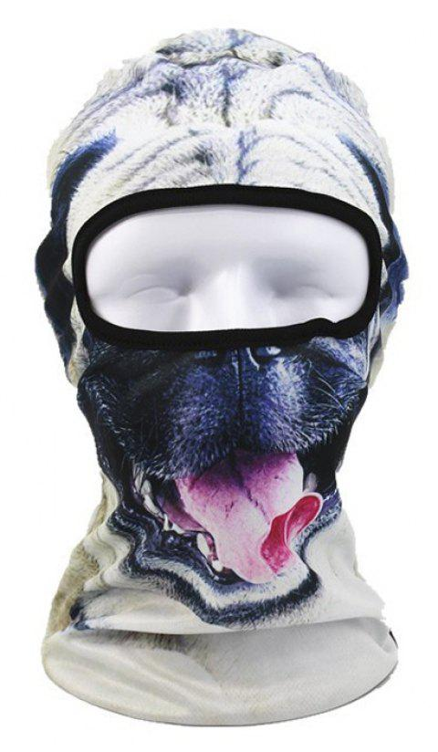 3D Animal Style Breathable Face Mask for Outdoor Sports Motorcycle Cycling Snowboard Hunting - COLORFUL FLOWER