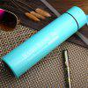 Thin Style Portable  Vacuum Cup with Mini Tea Cup - BLUE 400ML