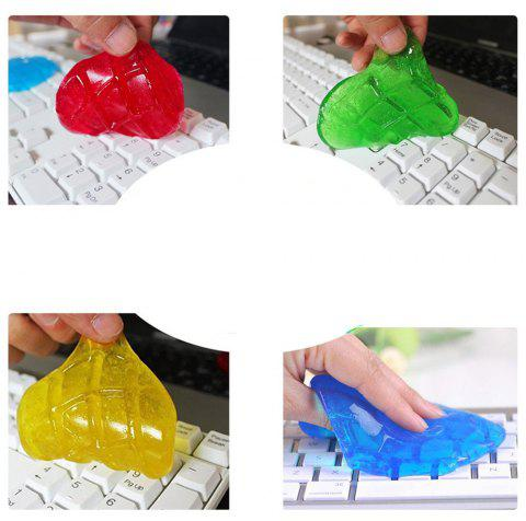 4PCS Keyboard Cleaning Gel Keyboard Cleaner Remove Dust Hair Crumbs Dirt and Germs from Keyboard - COLORMIX